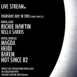 Hot Since 82 - Live @ ENTER.Terrace Space Ibiza (Spain) 2013.07.18.