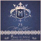 Deep in Mind Vol.75 By Manu DC