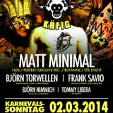 Frank Savio @ Affenkäfig, Bogen2 (Cologne) 02-03-2014