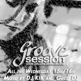 Mix DJ KIK - Groove Session EP02 2010 Podcast !