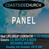 Sunday 4th October - The Panel