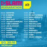 Conro @ Mix Marathon ADE Special Slam!FM – 20.10.2016 [FREE DOWNLOAD]
