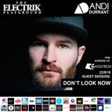 Electrik Playground 22/9/18 inc. Don't Look Now Guest Session