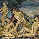 Vier Badende in Landschaft (ClassicalAmbient)