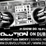 Dubvolution on Dubbase.FM /W Smoky + OneMoreHit