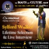 Special on and live interview with Sylford Walker @ Outta Mi Yard Radio