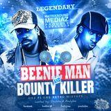 BOUNTY KILLER &  BEENIE MAN -SHOOTOUT RETRO MIXTAPE