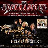 The Michael Spiggos Melodic Rock Show feat. Helge Engelke (Fair Warning) 30.10.2016