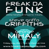 FREAK DA FUNK - STEVE GRIFFO GRIFFITHS + GUEST MIX GEORGE MIHALY (BUDAPEST)  MAY 31 2019