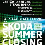 KlangKunst @ LA PLAYA - SKODA SUMMER - CLOSING 04.09.14