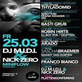 M.I.D.I. & Nick Zero @Bullitt Club - Munich (Germany)