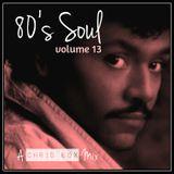 80's Soul Mix Volume 13 (August 2015)