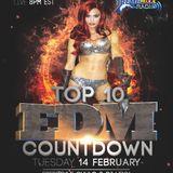 TOP 10 EDM COUNTDOWN with Freestyle Chulo & DJ Lexx  2-14-17