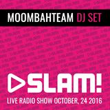 Moombahteam live @ SLAM! (Dutch Radio)