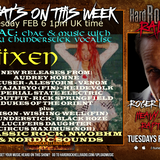 Hard Rock Hell Radio - Heavy Rock Rapture -  Feb 6 2018 feat Viixen