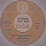 Lucio Battisti - Con il Nastro Rosa (chissà chi sei DjA)