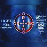 2017.11.03. - ORIGO - LIGET Club, Budapest - Friday