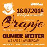 Dexter Curtin & Marcus Jahn @ Oranje - Call of Dutch Duty Elipamanoke Leipzig 18-07-2014
