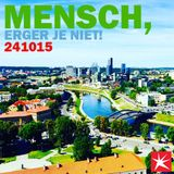 Mensch, erger je niet! - FM Brussel - 24/10/15