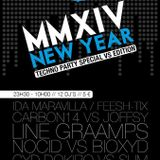 Line GraampsVSPoscan New years party
