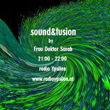 sound&fusion on radioYpsilon June 2018