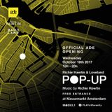Richie Hawtin  - Live at Pop Up, Nieuwmarkt (ADE 2017, Amsterdam) - 18-Oct-2017