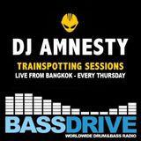 Trainspotting Sessions March 7th 2019 hosted by Amnesty @Bassdrive.com