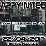 ( techno - Tech house ) HAPPY'N'TECK 22-04-2017