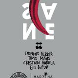Cristian Varela - Live @ Insane, Martina Beach Club (The BPM Festival 2016, Mexico) - 08-JAN-2016