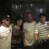 DJ BUBBLER & DEANIE RANKIN WITH GUESTS RUFFNECK TING (JINX & DAZEE) ON KOOL LONDON 09-06-2016