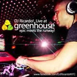 DJ Ricardo! Live at Greenhouse NYC: Epic meets the Runway