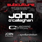 Jorn van Deynhoven - Live @ The Gallery, Ministry of Sound (London) - 22.11.2013
