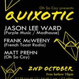 Jason Lee Ward promo mix/ Oh So Coy presents Quixotic Horse and Groom 2/10