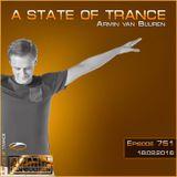 Armin van Buuren - A State Of Trance Episode 751 (18.02.16) - www.seciki.pl