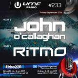 UMF Radio 233 - John OCallaghan & RITMO