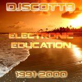 "DJ Scott B presents ""Electronic Education"" (Trance Classics 1991-2000)"