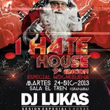 Lukas 3 decks at I Hate House Special Xmans2013