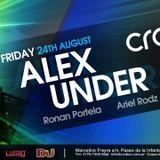 Ronan Portela & Ariel Rodz @ Crobar BA 24.08.12