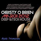 Christy O'Brien - March 2012 Demo (Deep & Tech House)
