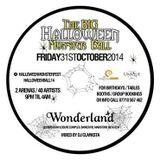 Big Halloween Monster Ball, Wonderland CD by DJ Clarksta