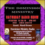 Dominion Ministry Radio-Mandi Brown