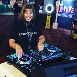 Shani Barnett Live from Las Vegas Mixing on the Denon Prime 4 with a Top 40 House Groove