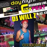 DJ WILL Z - Cityfest Live Set - 8.2012