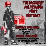 The Basement Voltz Radio Show 1st Anniversary 29th April 2017