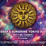 DJ SHINKAWA DEEP & SUNSHINE TOKYO #20 @ R LOUNGE MAY 2017