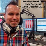 11th October Sunday Breakfast - Nick Benjamin flies solo!