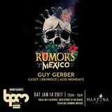 Guy Gerber - live at Rumors, Martina Beach (THE BPM 2017, Mexico)