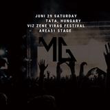 Mark Gasparik live at Viz Zene Virag Festival Day 2 - AREA51 - 20190629