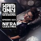 Xabi Only - Global Trance Sessions 023 (inc. Nifra Guestmix) [14-03-2012]