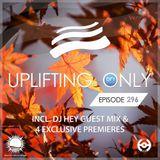 Ori Uplift - Uplifting Only 296 with DJ Hey